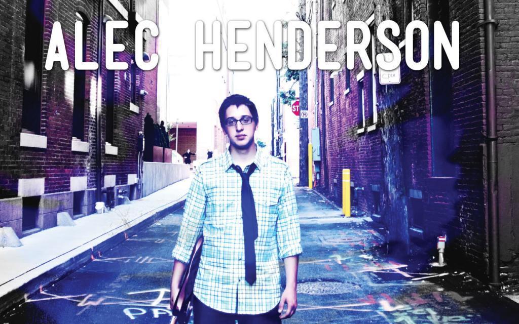 Alec Henderson CD cover art